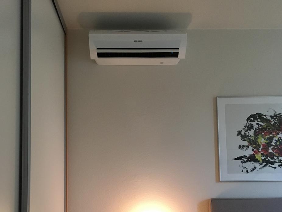 Airconditioning In Slaapkamer : Slaapkamer voorzien van een samsung ar u aircoplanet